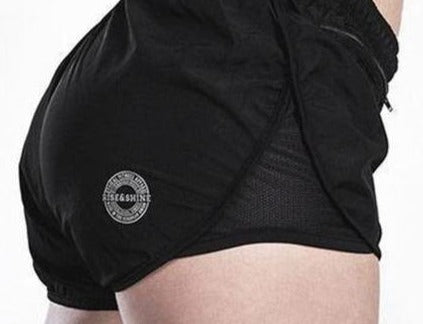 Shorts de Running Shorts Chica Rise&Shine Mindbody Industries