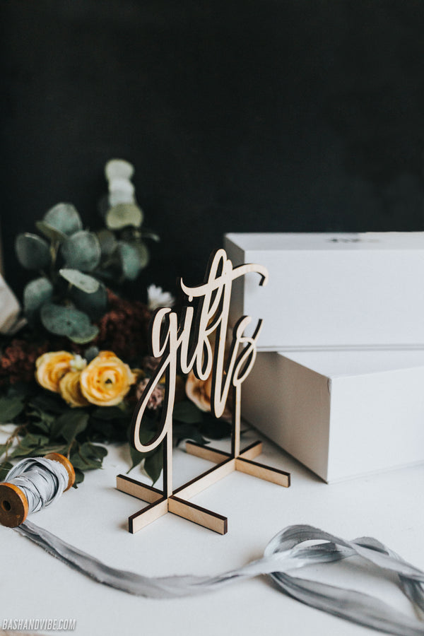 Personalized Wood Engraved Guestbook Sign