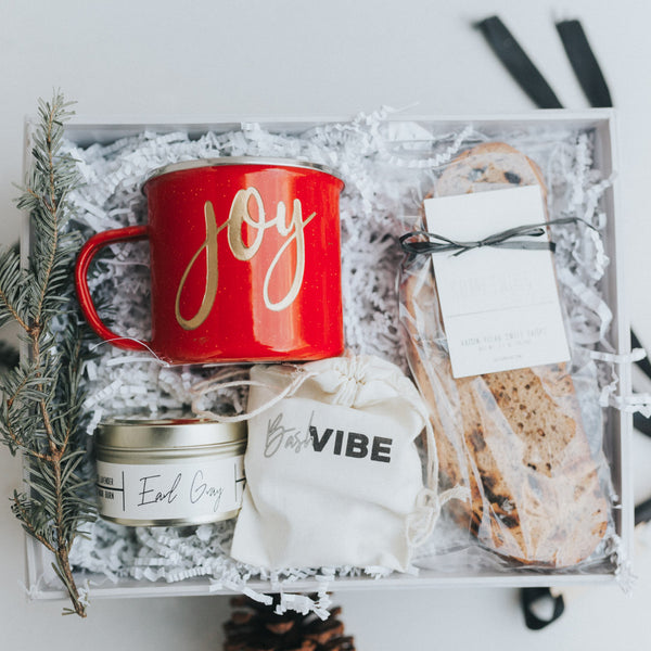 Joy Holiday Gift Box