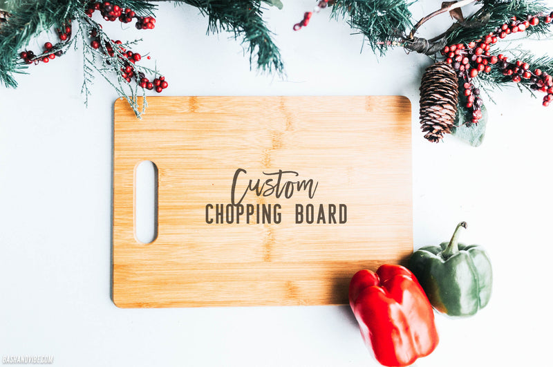 Custom Laser Engraved Chopping Board