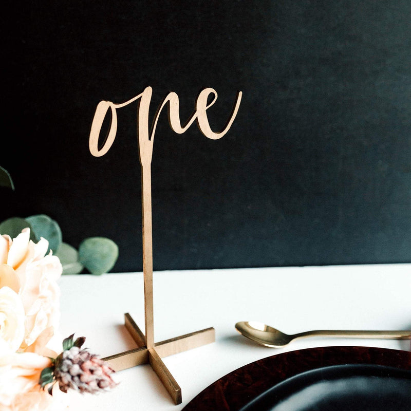 Tall Free Standing Table Numbers