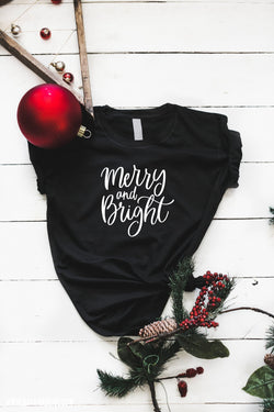 Merry and Bright Christmas T-Shirt