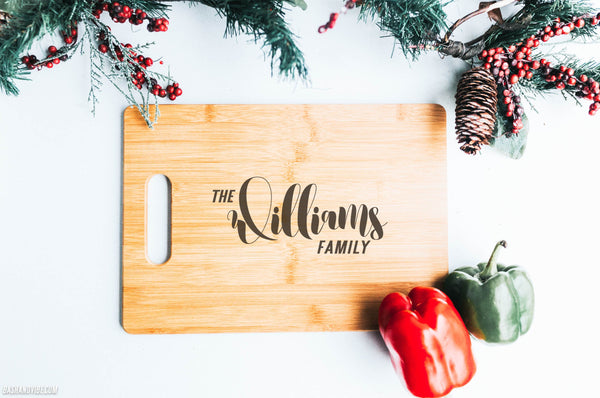 Family Name Chopping Board