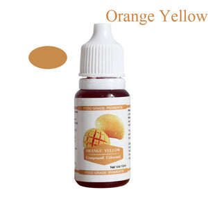 12 Colors 10ML Macaron Ice Cream Cake Food Coloring Ingredients Cake Fondant Baking Cake Edible Color Pigment Tools