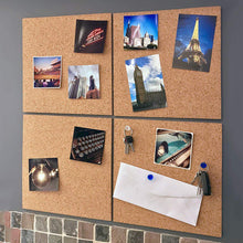 Load image into Gallery viewer, Corcho Pared Message Wood Tablica Korkowa Frame Bulletin Cork Board Home Hexagonal Square Circle Photo Wall Home DecorationCMMA