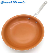 Load image into Gallery viewer, Non-stick Copper Frying Pan Ceramic Coating