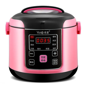 Home Smart Booking Mini Rice Cooker 1-2-3 people multifunctional small rice cooker  kitchen appliances electric rice cooker 400W