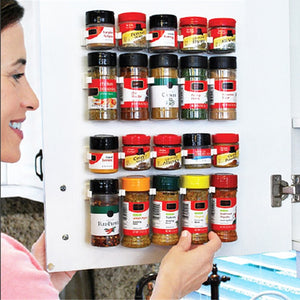 1/2/4 Pcs Wall Mount Spice Bottle Rack