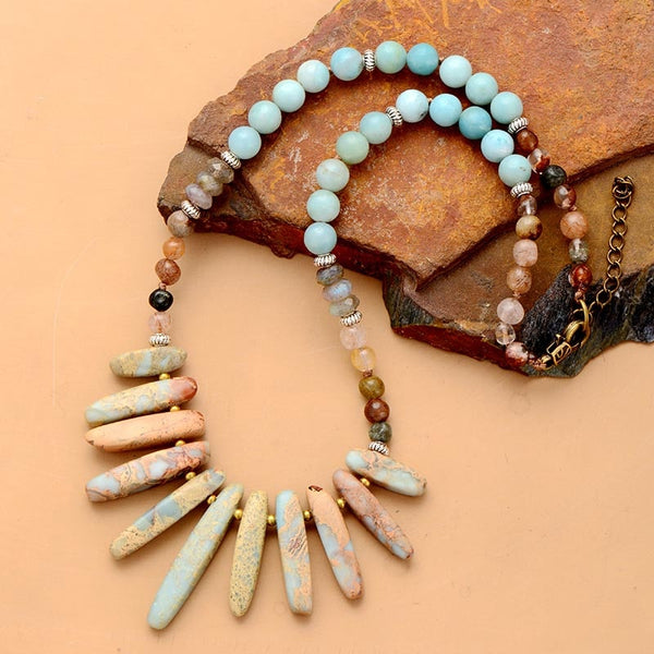 Tribal Boho Chic - Choker Necklace