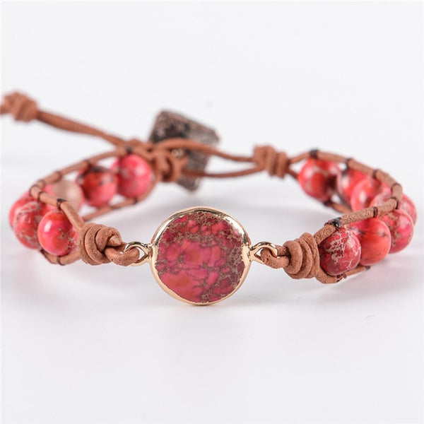Charming Nature - Regalite Beaded Bracelet