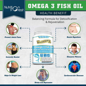Omega 3 Fish Oil 1000mg