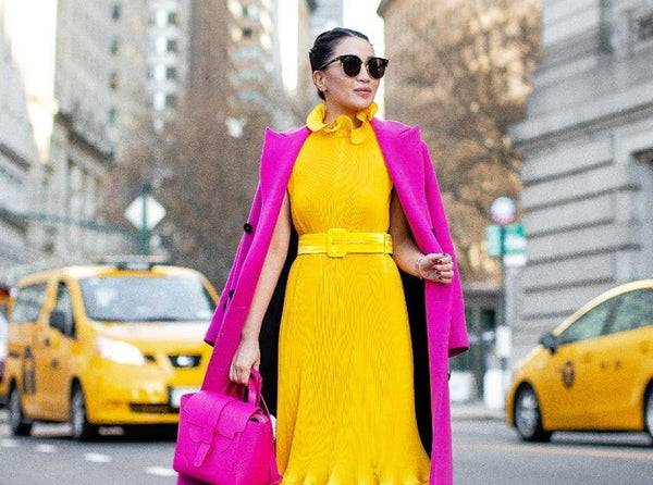 Absolème maîtriser le look color block