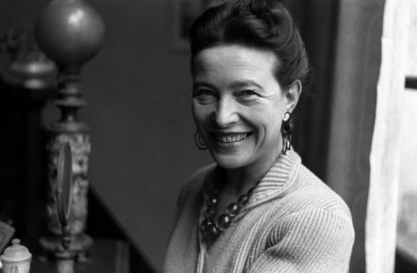 20 CITATIONS INSPIRANTES DE SIMONE DE BEAUVOIR