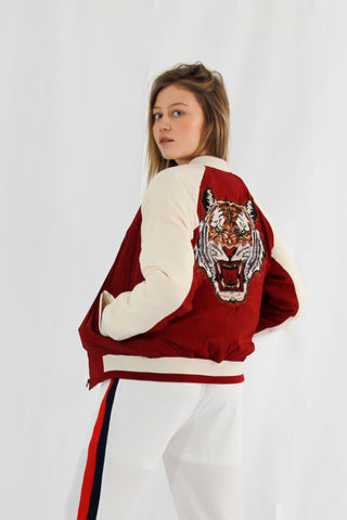 Absolème bomber Tigre Sonia Rouge