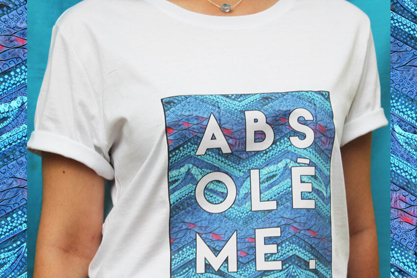 Absolème t-shirt solidaire Plan International