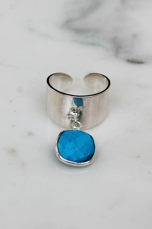 Bague Moroni Turquoise - Argent 925