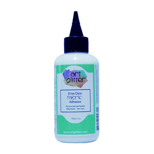 Art Glitter Glue for Fabric ~ Dries Clear Adhesive