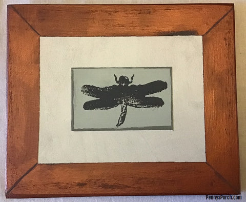 Dragonfly Wood Sign