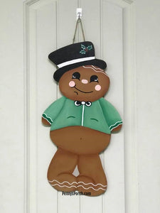 Gingerbread Boy Door Hanger / Wall Decor