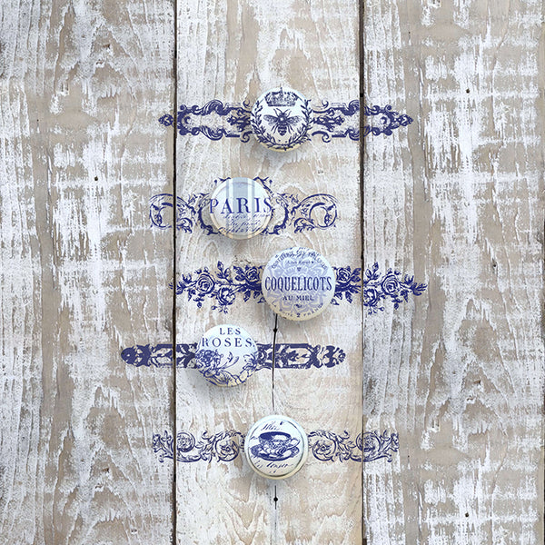 IOD Backplates Decor Stamp