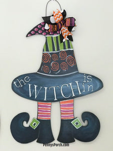 """The Witch Is In"" Door Hanger Paint Party"