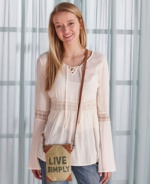Crossbody Handbag - Live Simply