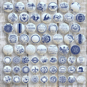 IOD Knob Toppers Decor Stamp