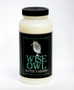 Wise Owl Matte Varnish