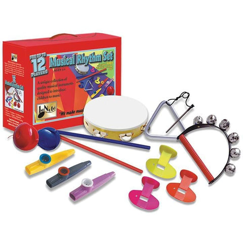 12 Pc Musical Rythmn Set - Drum & Percussion