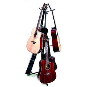 6 Guitar Display Stand Black Anod Alum - Guitar & Bass