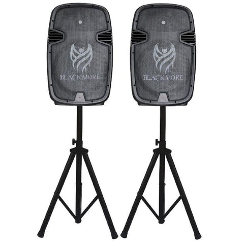 Active 15 BT Cabs+ Mic, Stand Pack