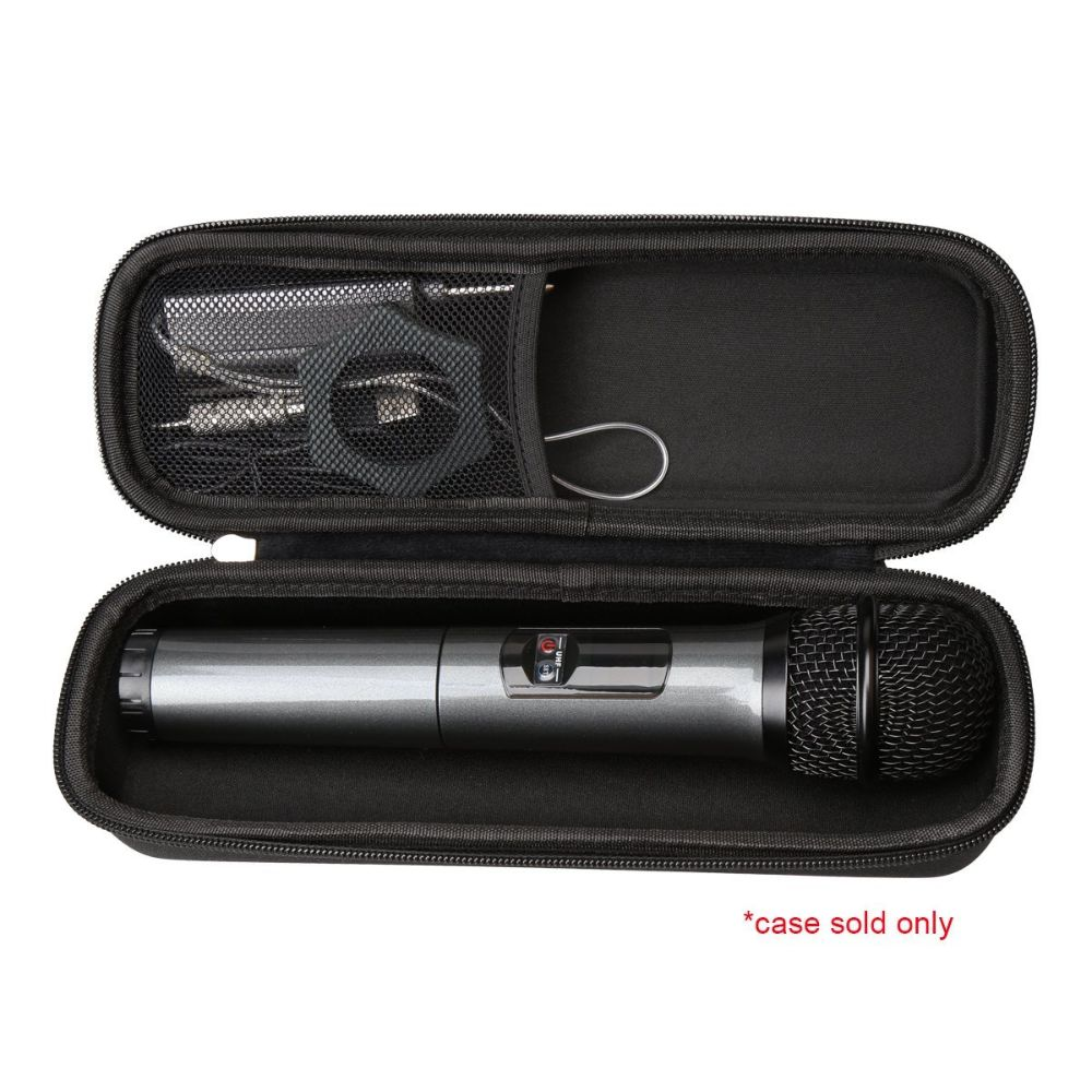 Wireless Microphone Hard Carrying Travel Case