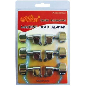 Alice Chrome-Plated Closed Machine Head - Guitar & Bass