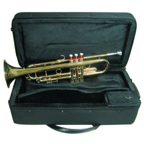 B Flat Brass Trumpet W\Case - Band