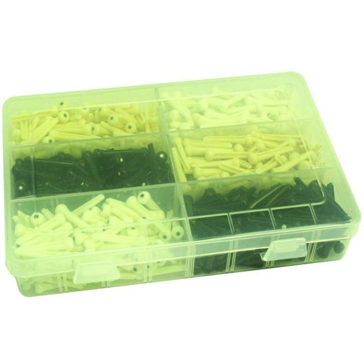 Bridge Pin Assortment 600 pcs - Guitar & Bass