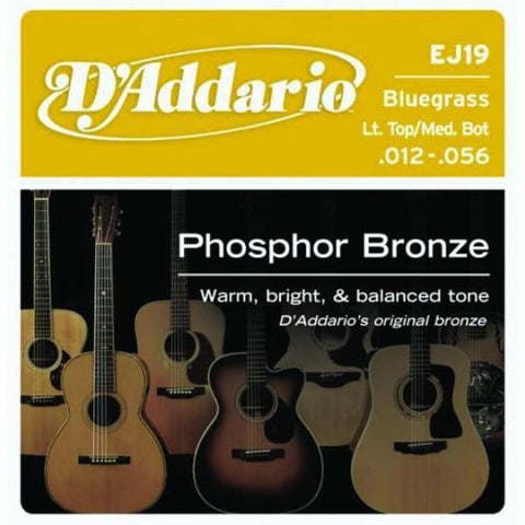 Daddario SET ACOUS PHOS BRZ BLUEGRASS - Guitar & Bass