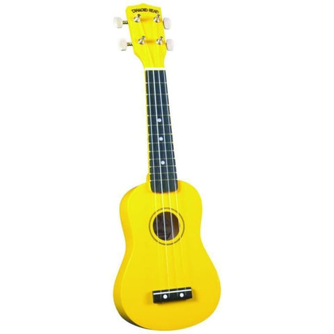 Diamond Head Ukulele Yellow - World & Folk