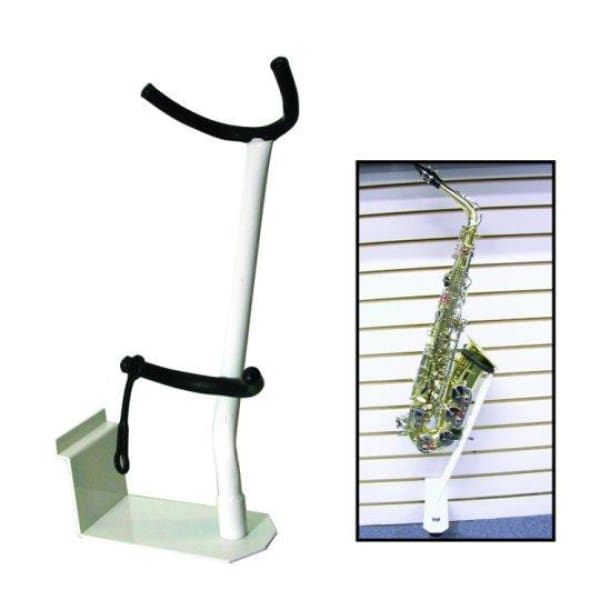DX-Alto Sax Display Hanger White Slatwal - Band