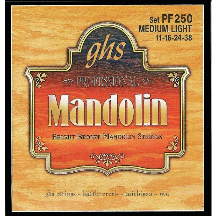 DX-GHS MANDOLIN BRIGHT BRONZE LIGHT - World & Folk