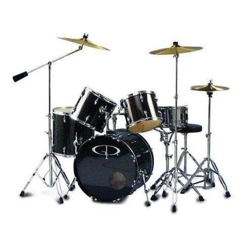 DX-GP Percussion Studio Drum Set Bk W- C - Drum & Percussion
