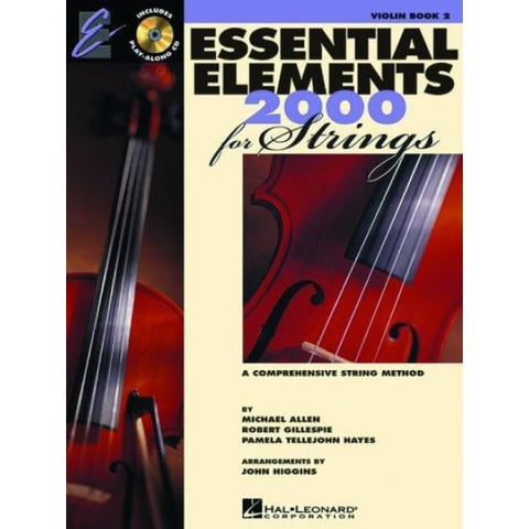 DX-HL Essential Elem Strings Bk 2 w-Webl - Instruction