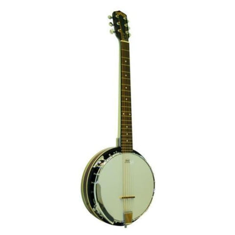 DX- Trinity River 6 String Banjo-Tar - World & Folk