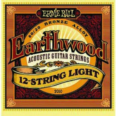 Ernie Ball Earthwd Aco 12 St Lt 80-20 - Guitar & Bass