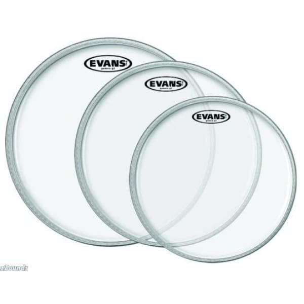 Evans Drum Head 10 inch G1 Clear - Drum & Percussion