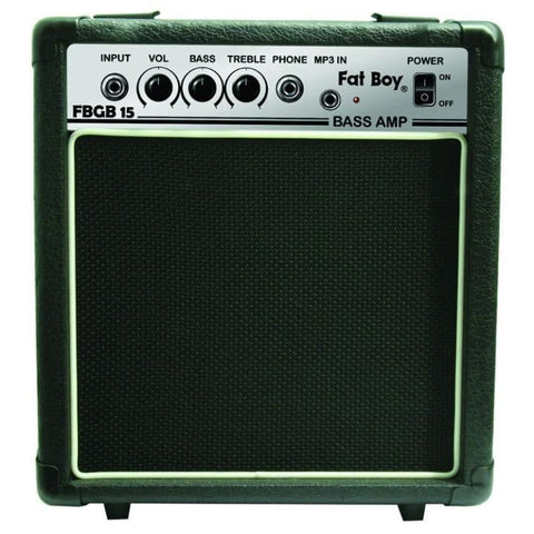 FAT BOY 15 WATT BASS AMP - Guitar & Bass