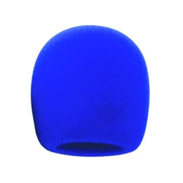 Fat Boy Mic Wind Screen Blue - Microphones