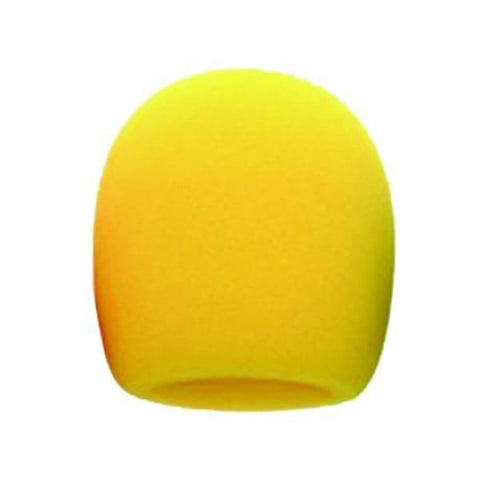 Fat Boy Mic Windscreen Yellow - Microphones