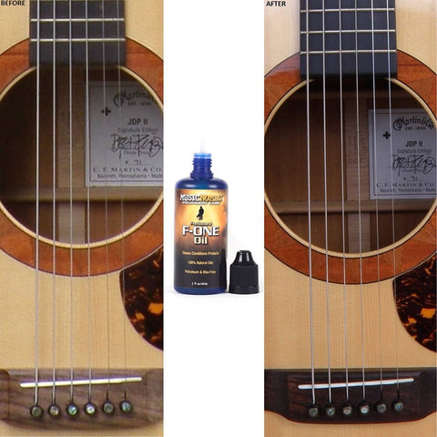 Fretboard Oil Cleaner and Conditioner