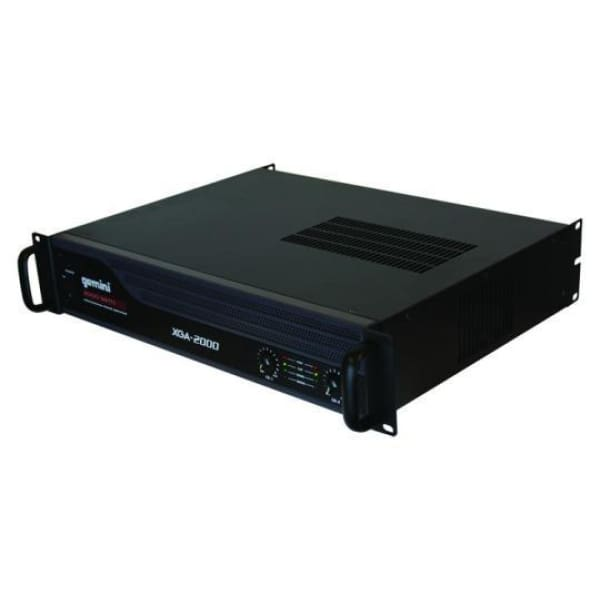 Gemini 2000 Watt Rack Mount Power Amp - DJ & Club Gear