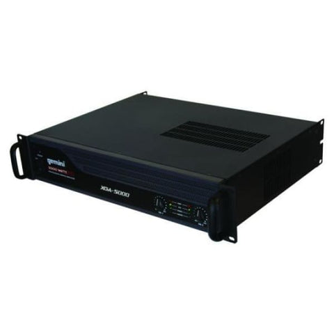 Gemini 5000 Watt IPP High Power Amp - DJ & Club Gear